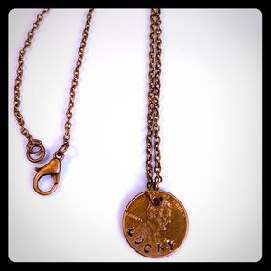 Handmade Penny necklace